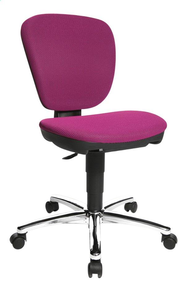 Image pour Topstar chaise de bureau pour enfants Kiddi Star rose à partir de ColliShop