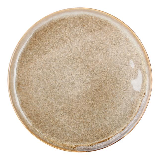 Image pour O-Tableware 4 assiettes à dessert Element Ø 19,5 cm brun à partir de ColliShop