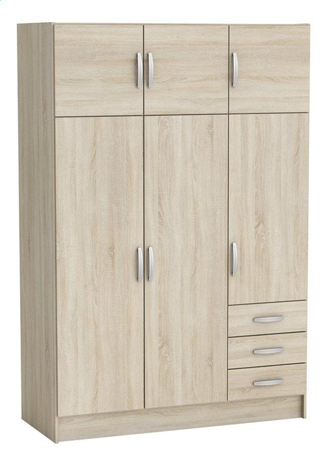 Image pour Demeyere Meubles Garde-robe 6 portes et 3 tiroirs Magnum décor chêne à partir de ColliShop