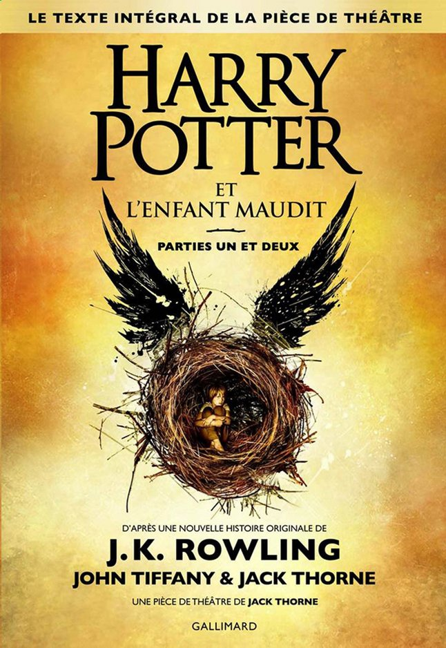 Afbeelding van Harry Potter et l'enfant maudit Parties 1 et 2 from ColliShop