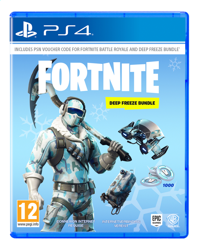 Image pour PS4 Fortnite Code Deep Freeze Bundle FR/NL à partir de ColliShop