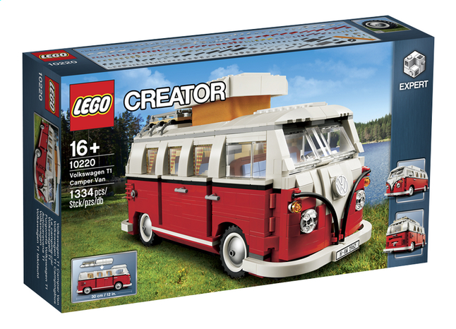 Image pour LEGO Creator Expert 10220 Volkswagen T1 camper Van à partir de ColliShop