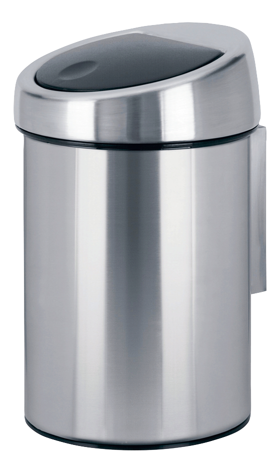 brabantia poubelle touch bin inox mat 3 l collishop. Black Bedroom Furniture Sets. Home Design Ideas