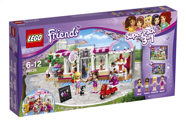 Afbeelding van LEGO Friends 66539 Super Pack 3-in-1 from ColliShop