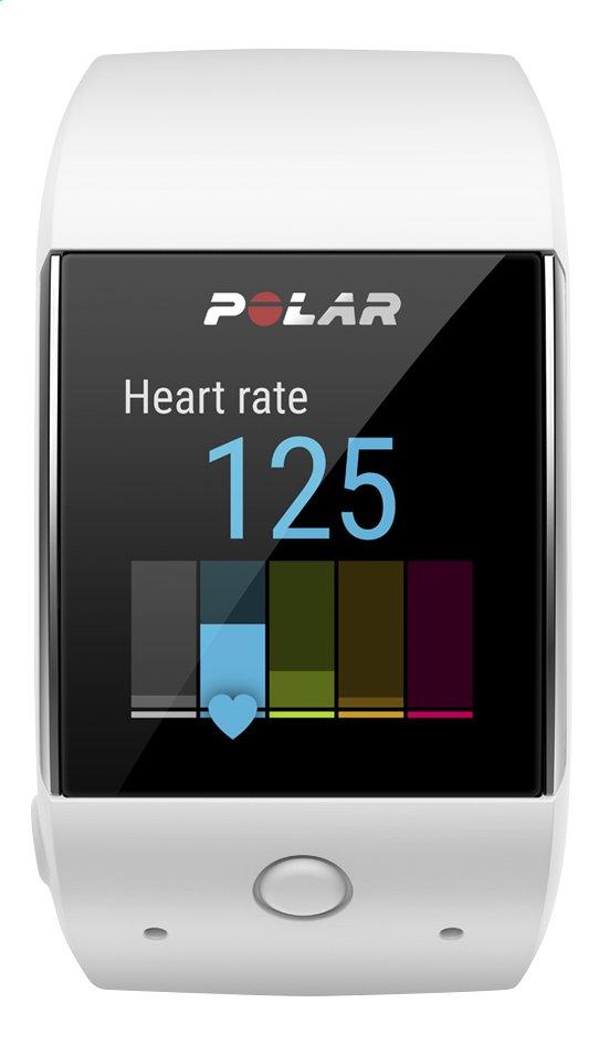 Image pour Polar Cardiofréquencemètre GPS et montre connectée M600 blanc à partir de ColliShop
