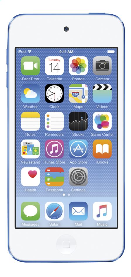 Afbeelding van Apple iPod touch 16 GB blauw from ColliShop