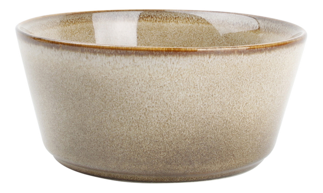 O-Tableware 4 bols Element Ø 14 cm brun