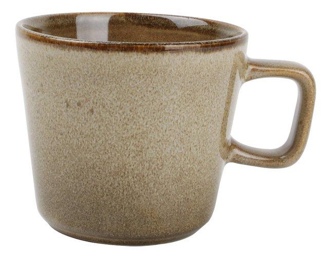 Ona 4 tasses à café Element Ø 8,5 cm brun