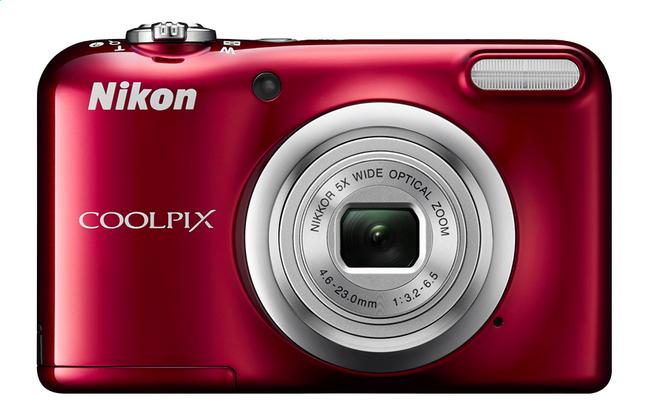 Afbeelding van Nikon digitaal fototoestel A10 rood from ColliShop