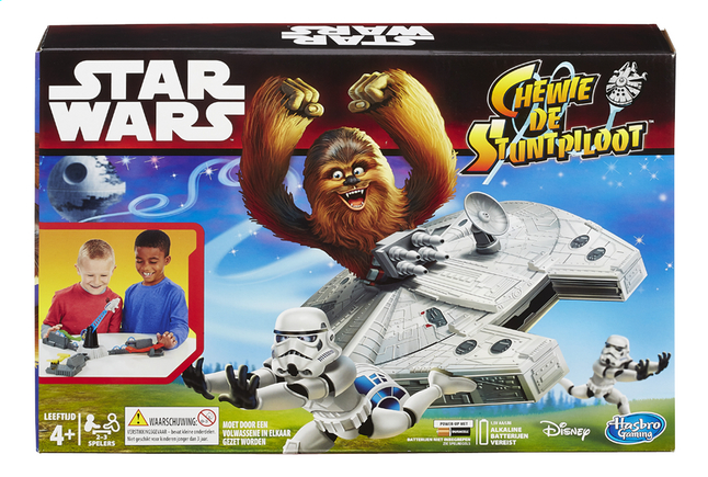 Afbeelding van Star Wars Chewie de Stuntpiloot from ColliShop