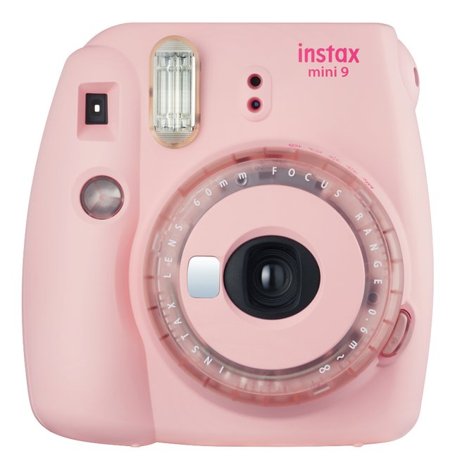 Fujifilm appareil photo instax mini 9 Clear Pink