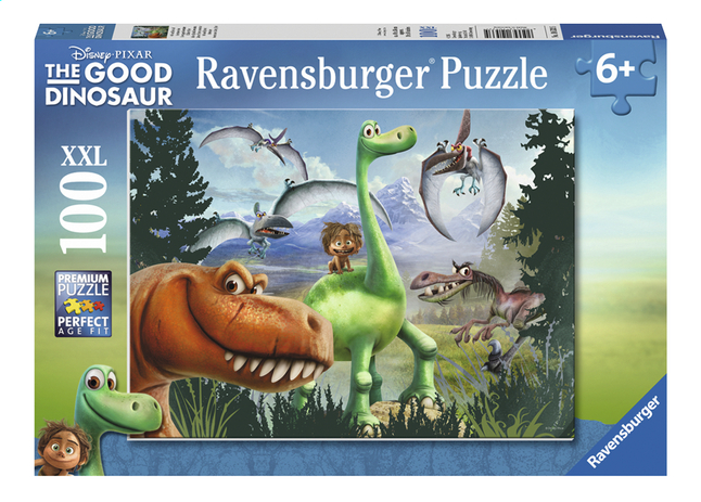 Afbeelding van Ravensburger XXL puzzel The Good Dinosaur Arlo en Spot op avontuur from ColliShop