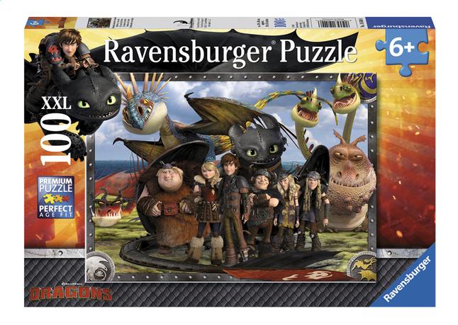 Image pour Ravensburger puzzle XXL Dragons Krokmou et ses amis à partir de ColliShop