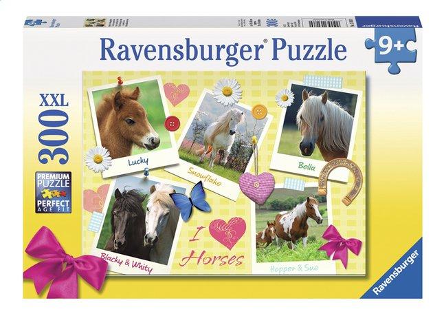 Afbeelding van Ravensburger XXL puzzel Mijn lievelingspaarden from ColliShop
