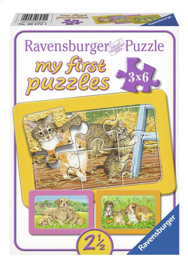 Image pour Ravensburger puzzle 3 en 1 My First Animaux domestiques à partir de ColliShop