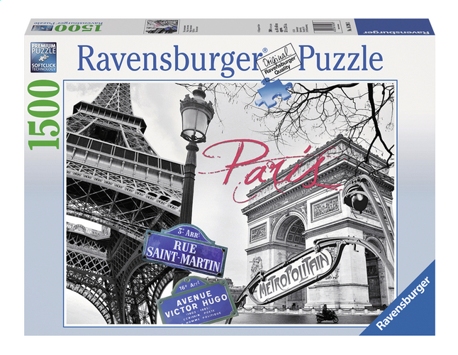 Afbeelding van Ravensburger puzzel Paris mon amour from ColliShop