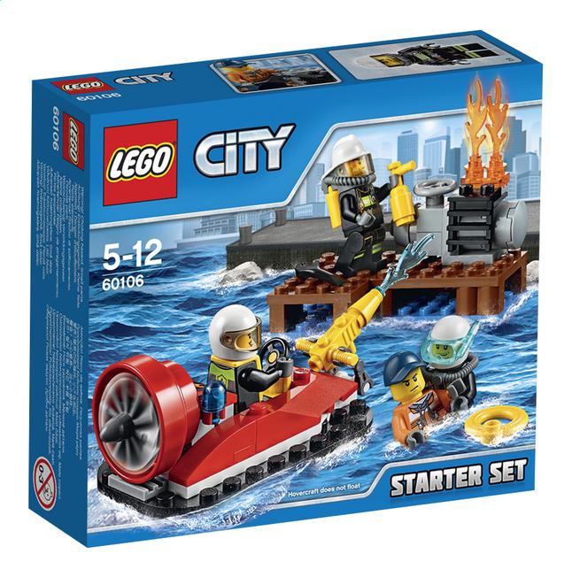 Image pour LEGO City 60106 Ensemble de démarrage pompiers à partir de ColliShop