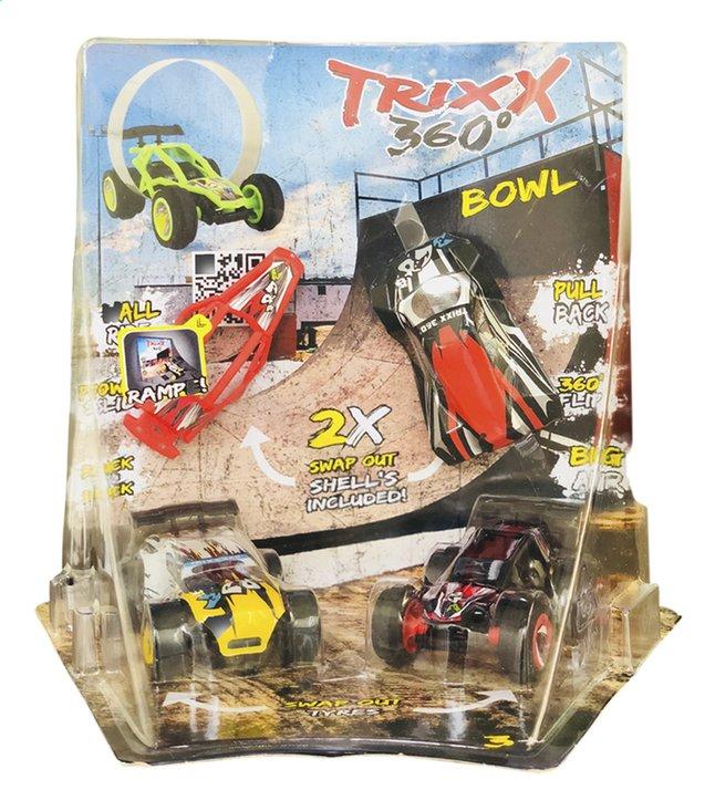Image pour Trixx 360° voitures acrobatiques Stuntcars noir/jaune - 2 pièces à partir de ColliShop