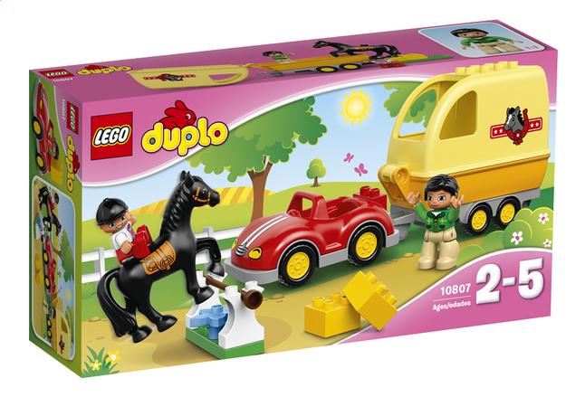 Afbeelding van LEGO DUPLO 10807 Paardentrailer from ColliShop