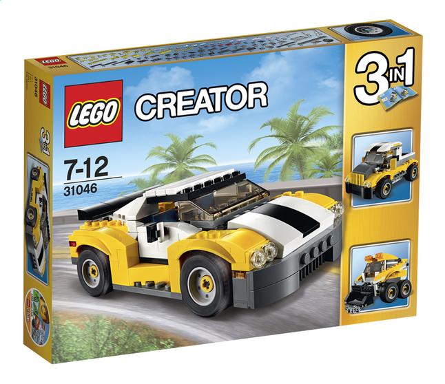 Afbeelding van LEGO Creator 31046 Snelle gele wagen from ColliShop