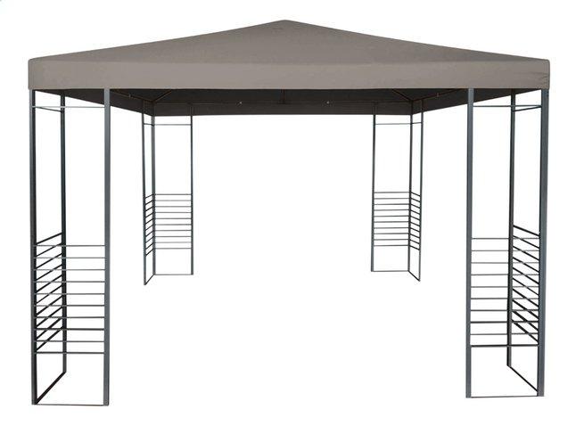Tente de réception Gazebo taupe 3 x 3 m | ColliShop