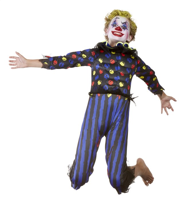 Image pour Déguisement de clown diabolique taille 164 à partir de ColliShop