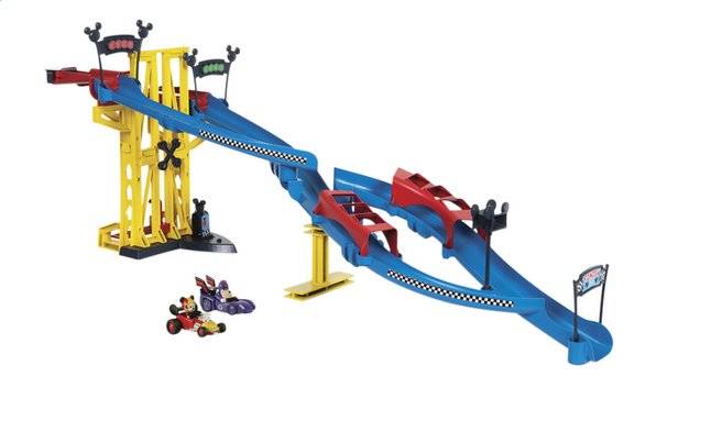 Speelset Disney Mickey and the Roadster Racers Super Training Tracks