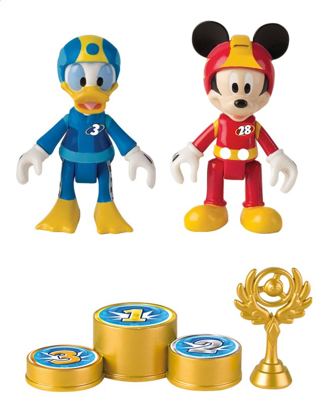 Image pour Figurine articulée Disney Mickey and the Roadster Racers Mickey & Donald à partir de ColliShop