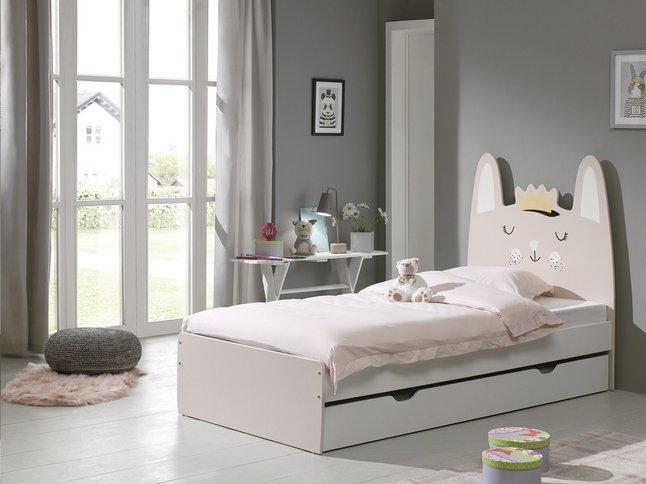 Afbeelding van Opberglade voor bed beer/Konijn/Kat wit from ColliShop