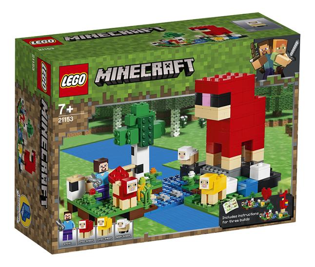 Image pour LEGO Minecraft 21153 La ferme à laine à partir de ColliShop