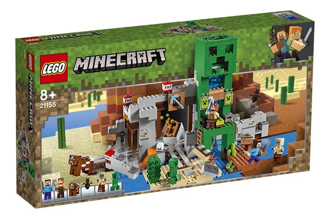 LEGO Minecraft 21155 La mine du Creeper