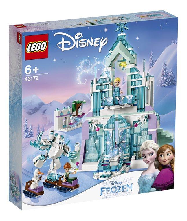 LEGO Disney Princess 43172 Le palais des glaces magique d'Elsa