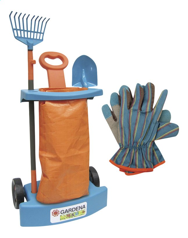 Afbeelding van Gardena kindertuinset Trolley from ColliShop