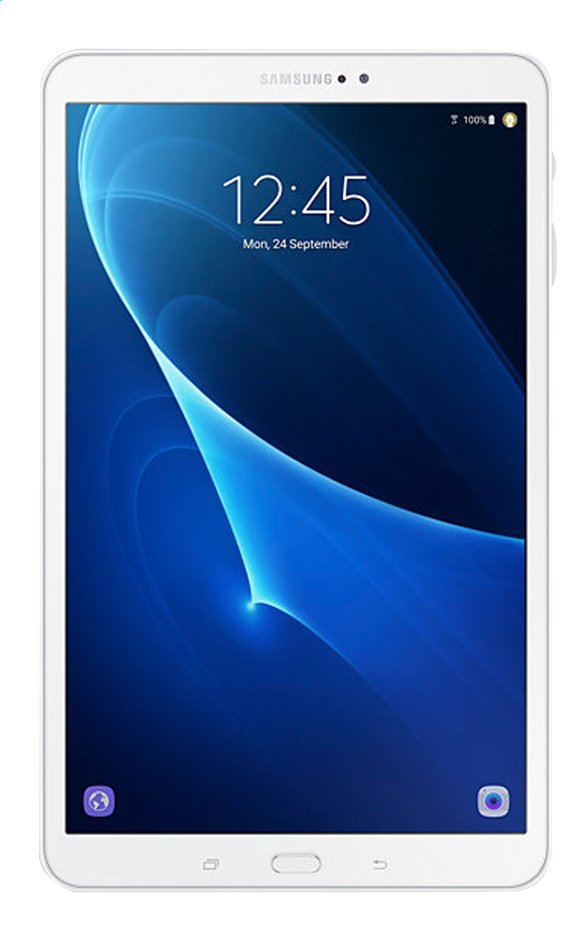 Afbeelding van Samsung tablet Galaxy Tab A 2016 Wi-Fi 10.1 inch 16 GB wit from ColliShop