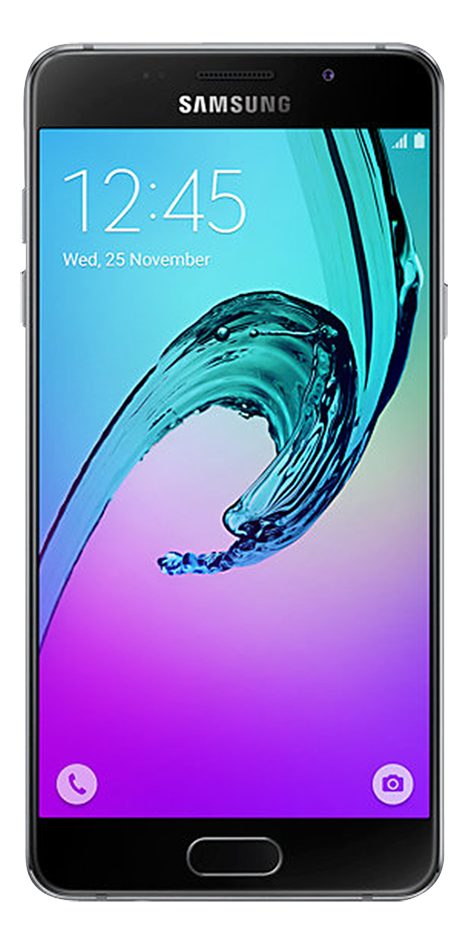 Image pour Samsung smartphone Galaxy A5 2016 noir à partir de ColliShop