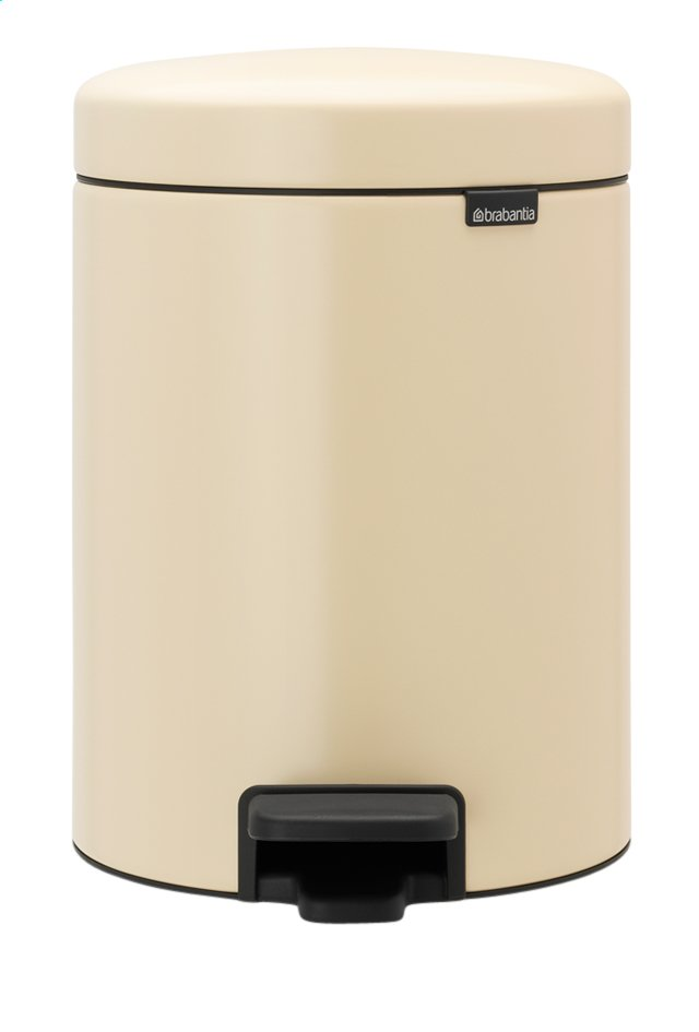 Afbeelding van Brabantia Pedaalemmer newIcon almond 5 l from ColliShop