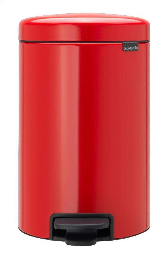 Image pour Brabantia Poubelle à pédale NewIcon passion red 12 l à partir de ColliShop