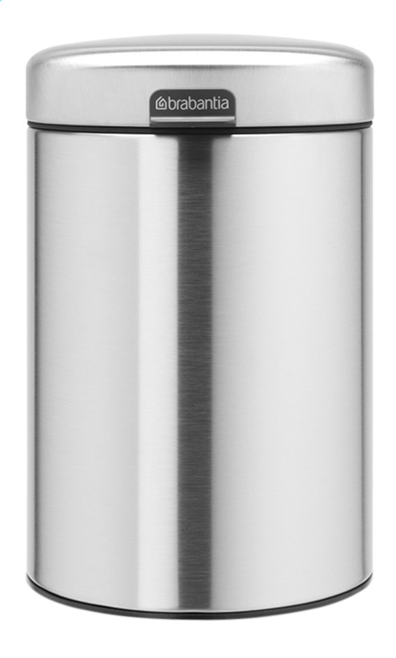 Afbeelding van Brabantia Wandafvalemmer newIcon matt steel 3 l from ColliShop