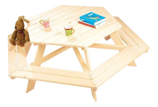 Afbeelding van Kinderpicknicktafel Nicki voor 6 kinderen from ColliShop