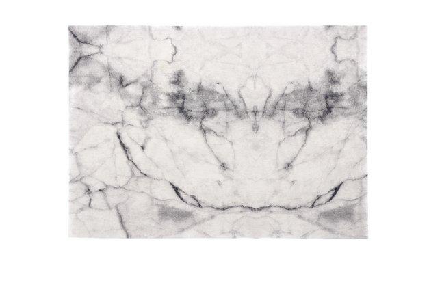 Afbeelding van Day Drap Placemat Non-slip marble grijs L 45 x B 32 cm - 2 stuks from ColliShop