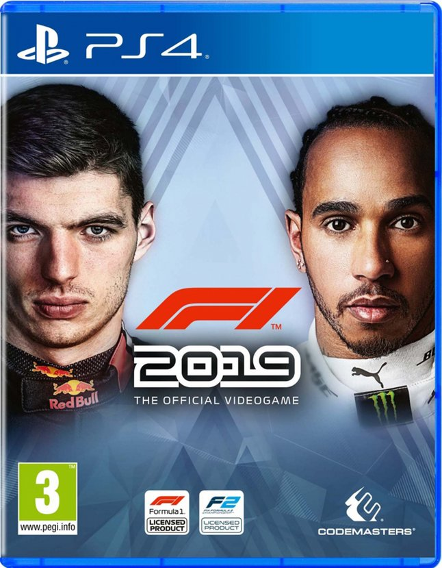 PS4 F1 2019 The Official Videogame FR/ANG