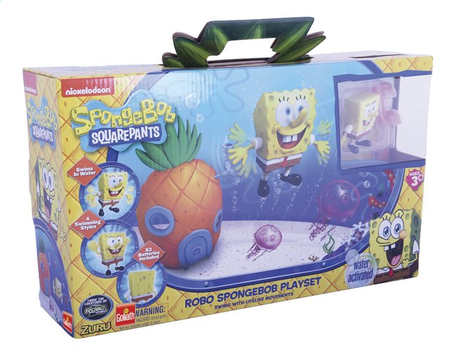 Afbeelding van Goliath speelset Spongebob Squarepants Robo from ColliShop