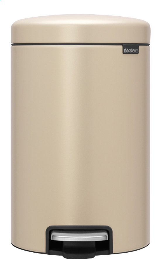 Afbeelding van Brabantia Pedaalemmer newIcon mineral golden beach 12 l from ColliShop