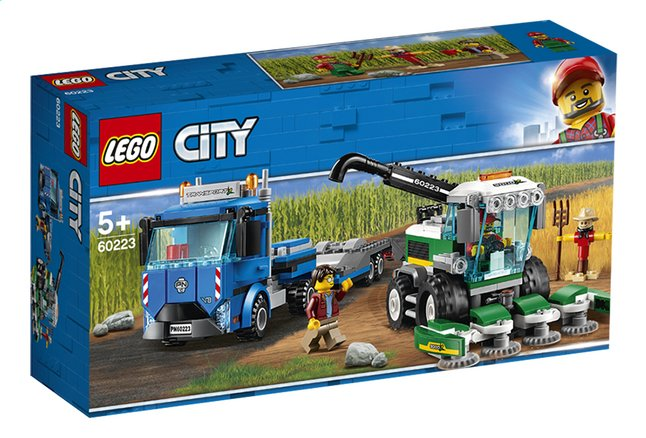 Afbeelding van LEGO City 60223 Maaidorser transport from ColliShop