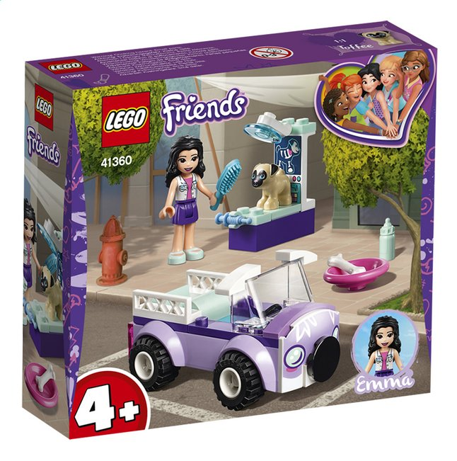 Afbeelding van LEGO Friends 41360 Emma's mobiele dierenkliniek from ColliShop