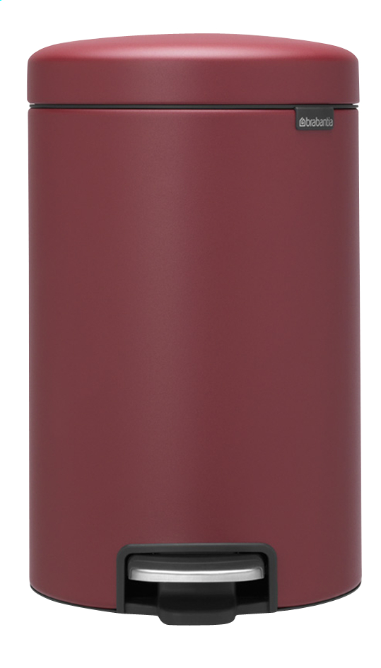 Afbeelding van Brabantia Pedaalemmer newIcon mineral windsor red from ColliShop