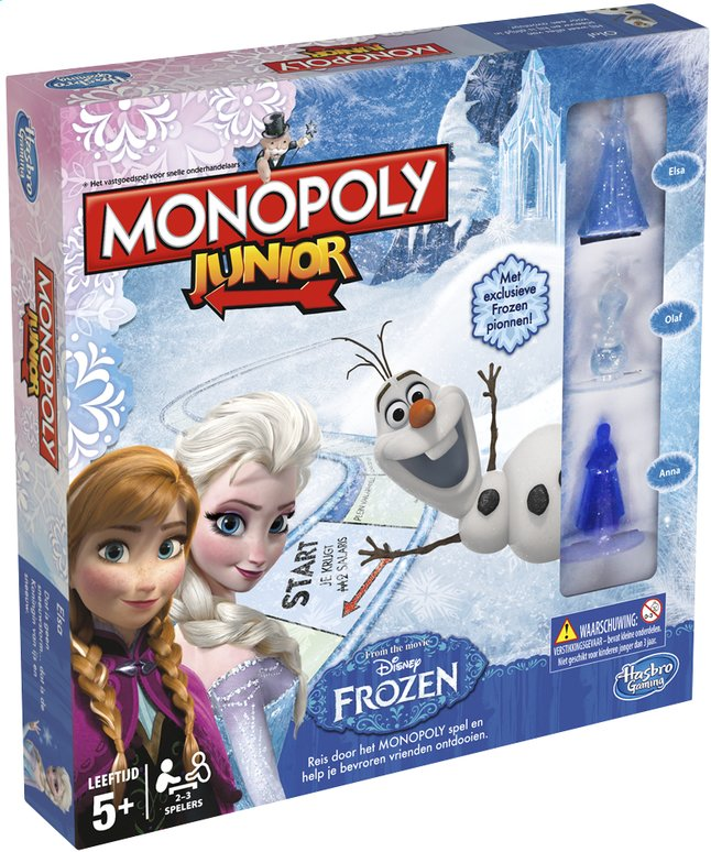Afbeelding van Monopoly Junior Disney Frozen from ColliShop