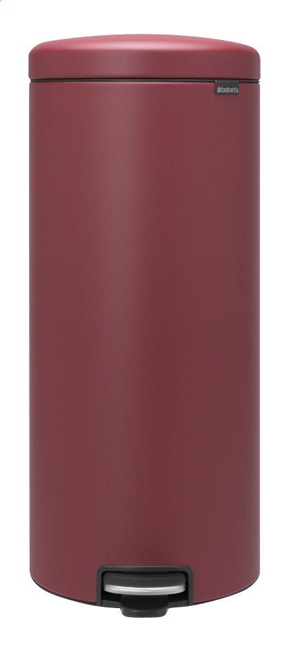 Brabantia Poubelle à pédale newIcon mineral windsor red 30 l