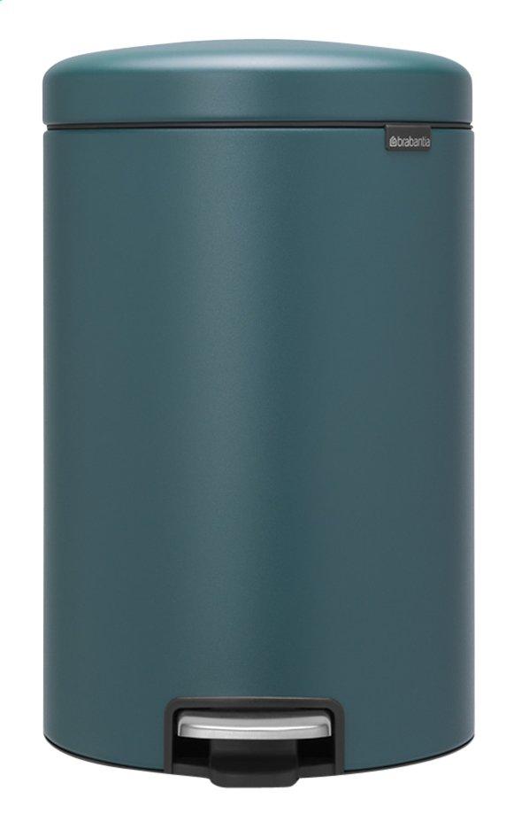 Afbeelding van Brabantia Pedaalemmer newIcon mineral reflective blue 20 l from ColliShop