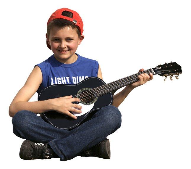 Afbeelding van Klassieke gitaar GP3 zwart from ColliShop